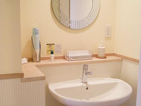 洗口コーナー&トイレ